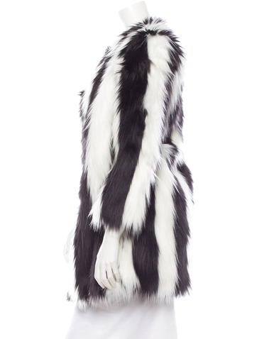 Faux Fur Coat w/ Tags