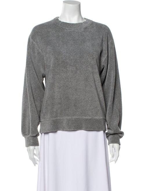 Baserange Crew Neck Long Sleeve Sweatshirt Grey