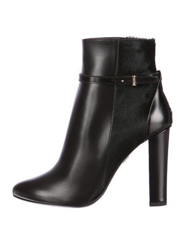 Emerald Semi-Pointed Toe Ankle Boots w/ Tags