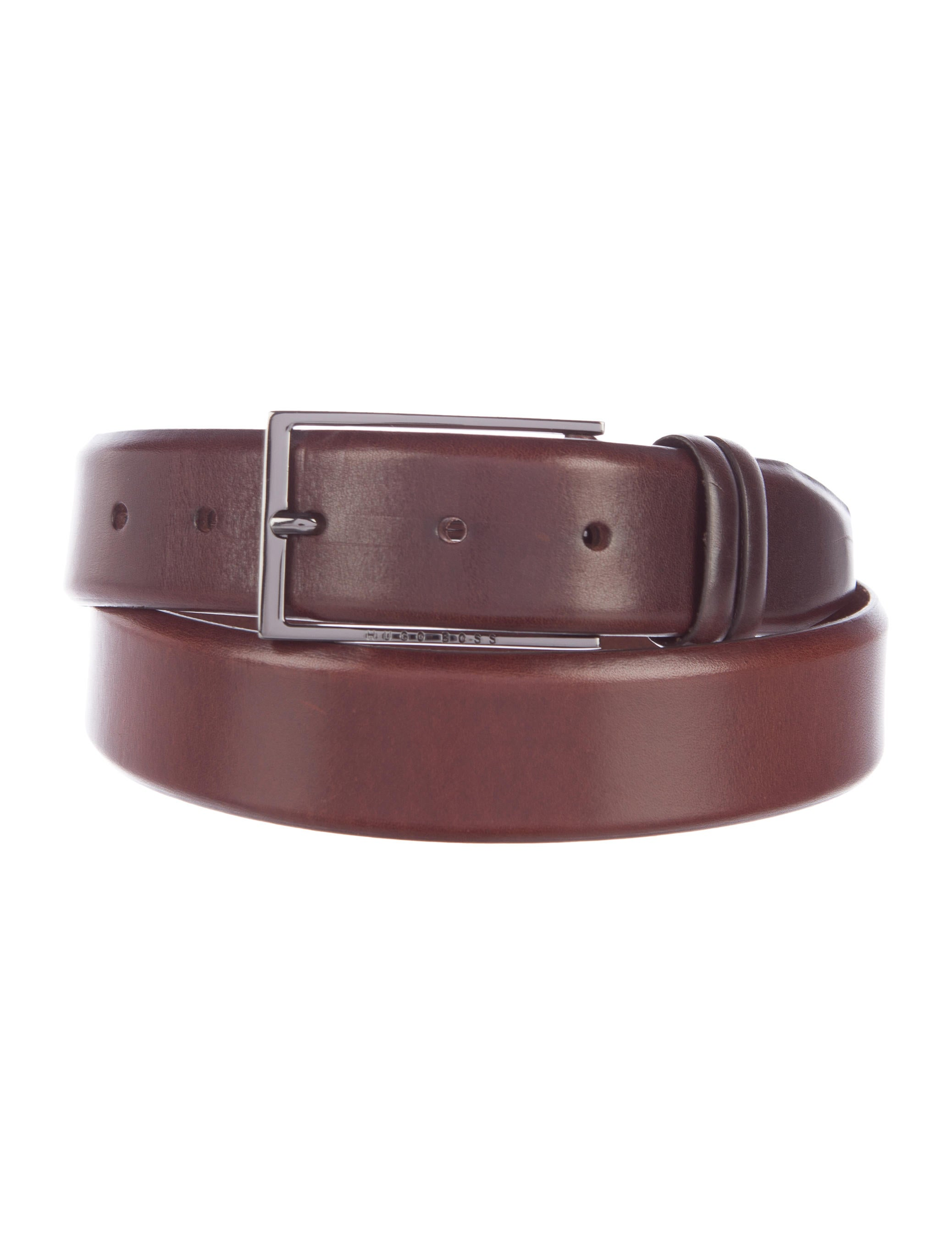 by hugo leather dress belt accessories