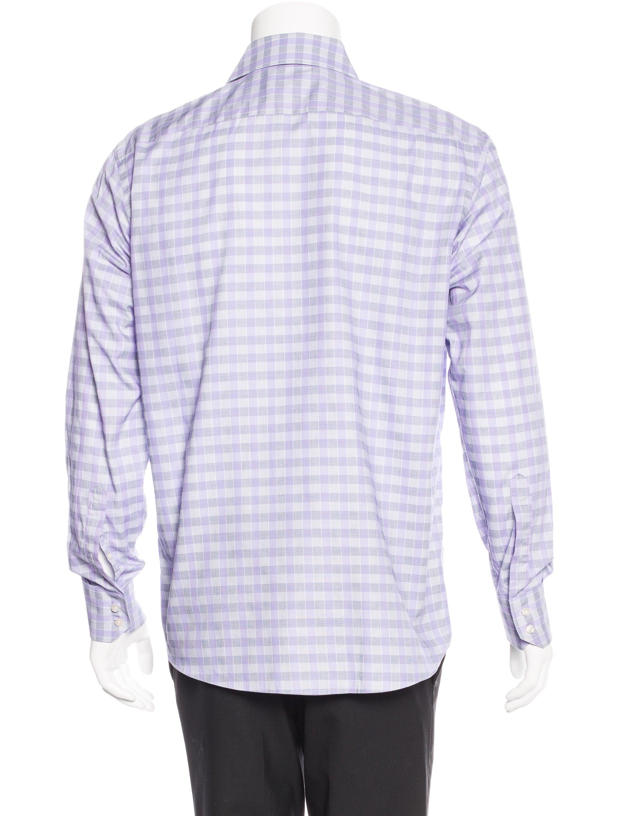 Boss by hugo boss regular fit check shirt clothing for Hugo boss shirt dress