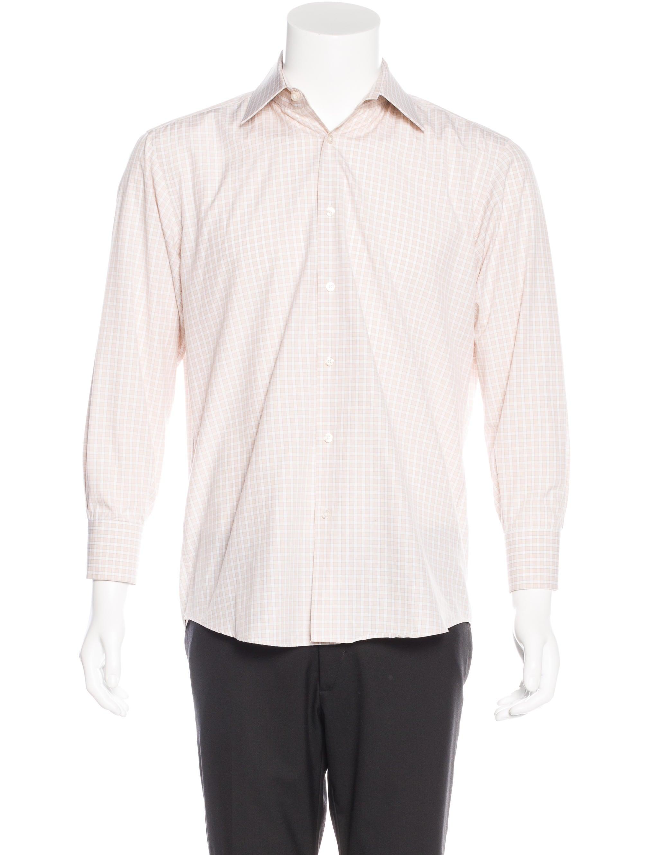 Boss by hugo boss regular fit check shirt clothing for Regular fit dress shirt