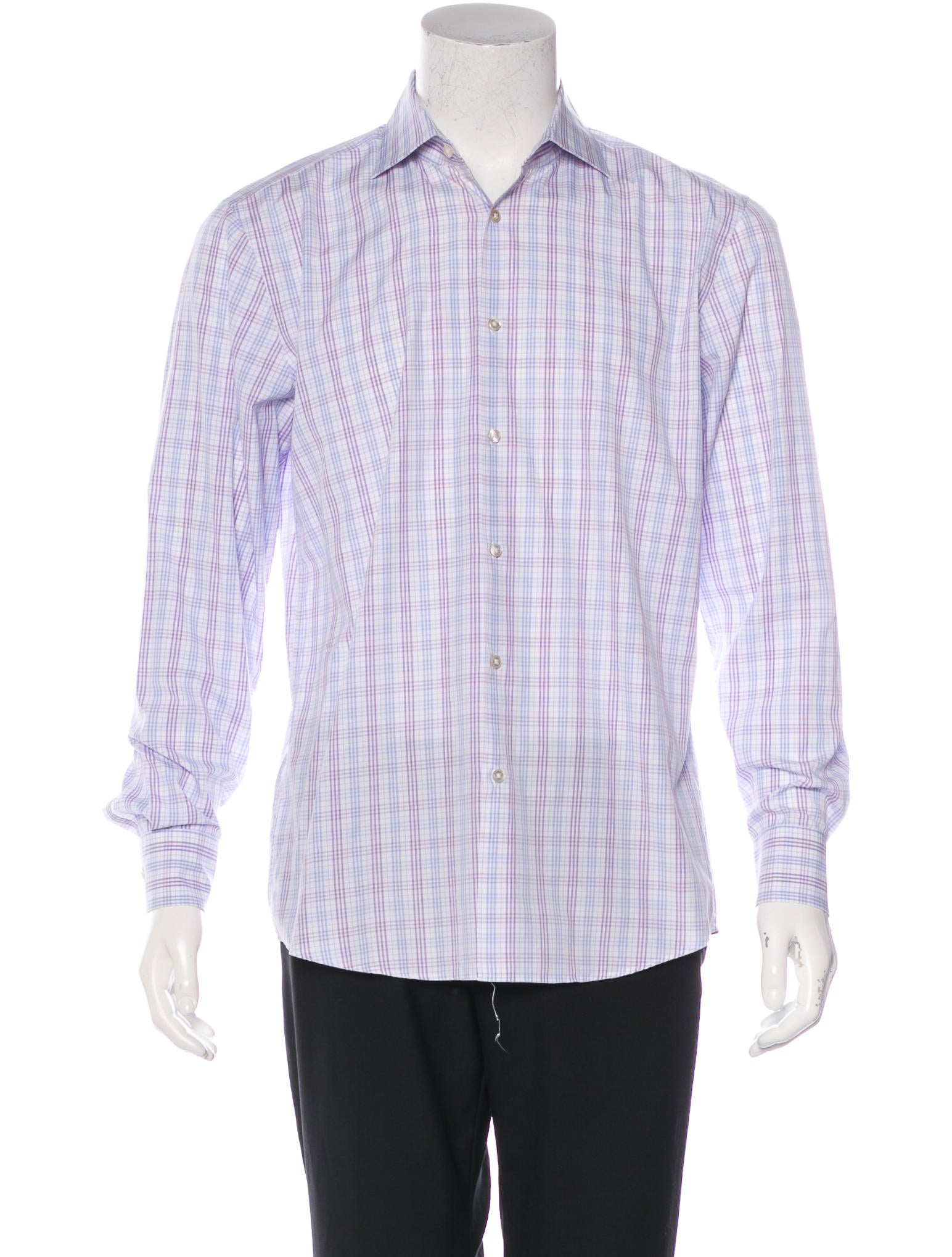 Boss By Hugo Boss Slim Fit Check Shirt Clothing