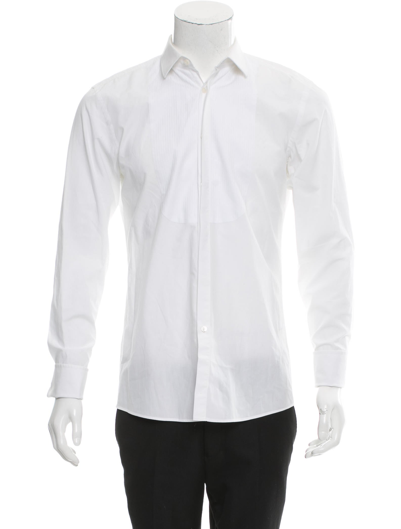 Boss By Hugo Boss French Cuff Button Up Shirt Clothing