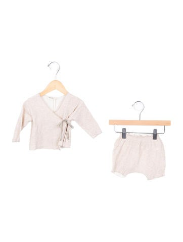 Babe & Tess Girls' Rib Knit Two-Piece Set w/ Tags None