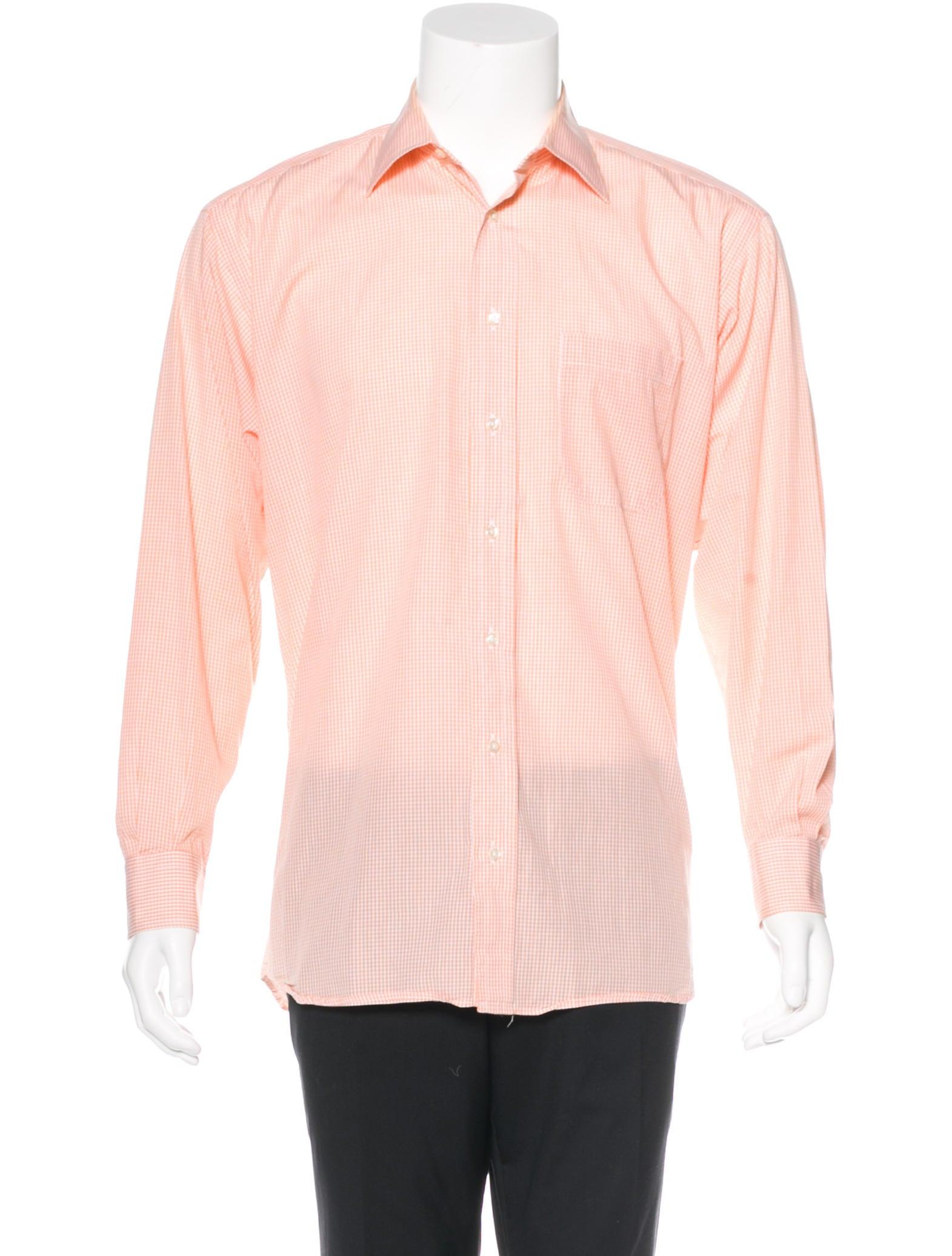 Burberry London Gingham Woven Shirt Clothing
