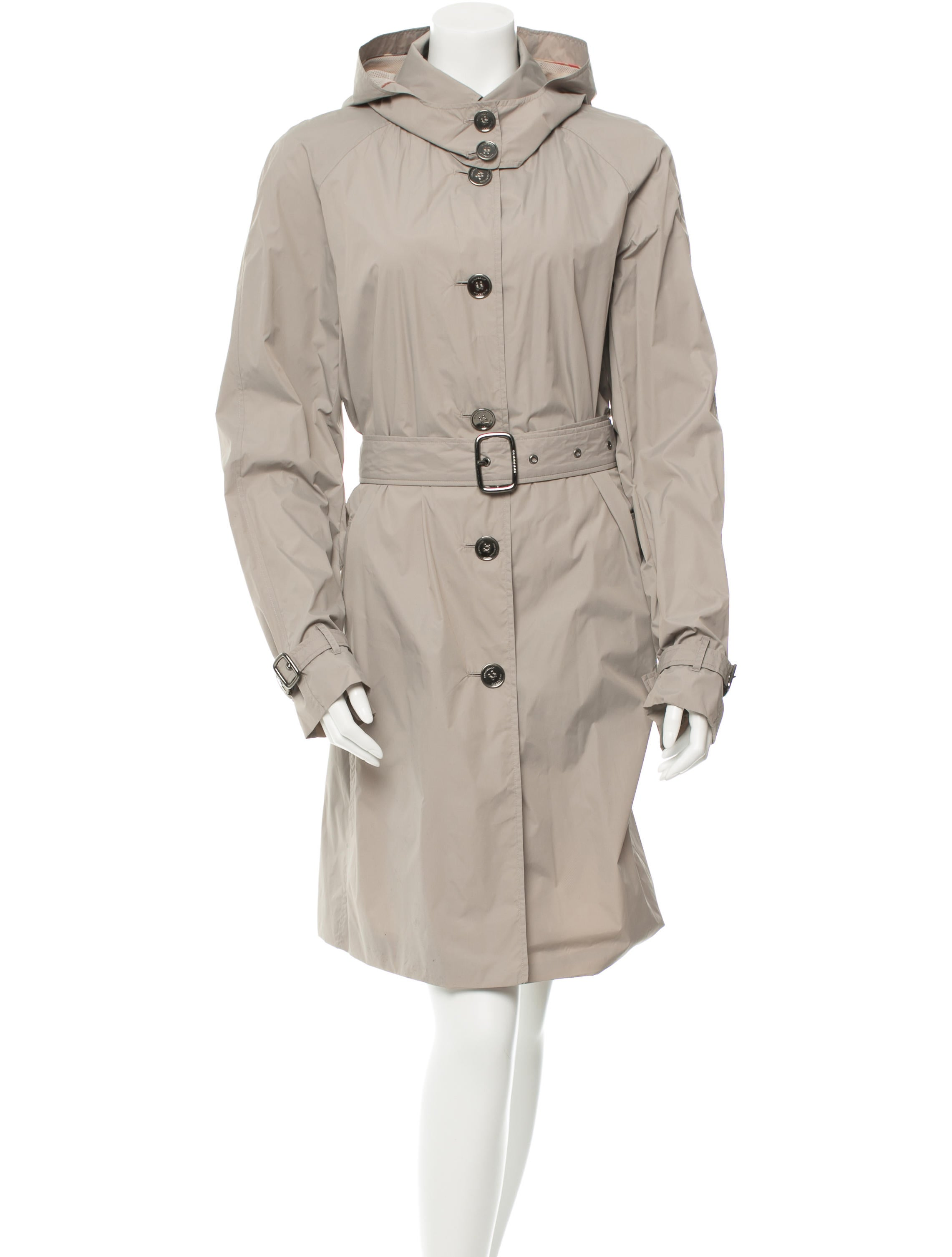 burberry london belted trench coat clothing wburl20900 the realreal. Black Bedroom Furniture Sets. Home Design Ideas