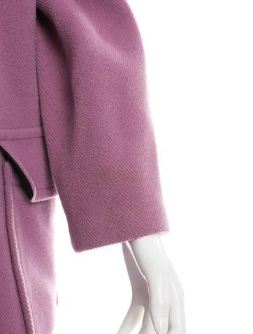 Wool Hooded Coat