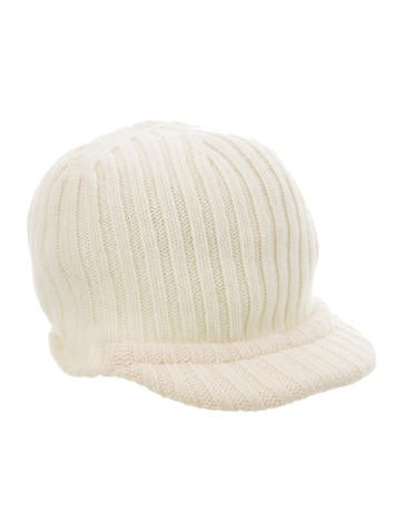 Burberry London Wool Rib Knit Beanie None