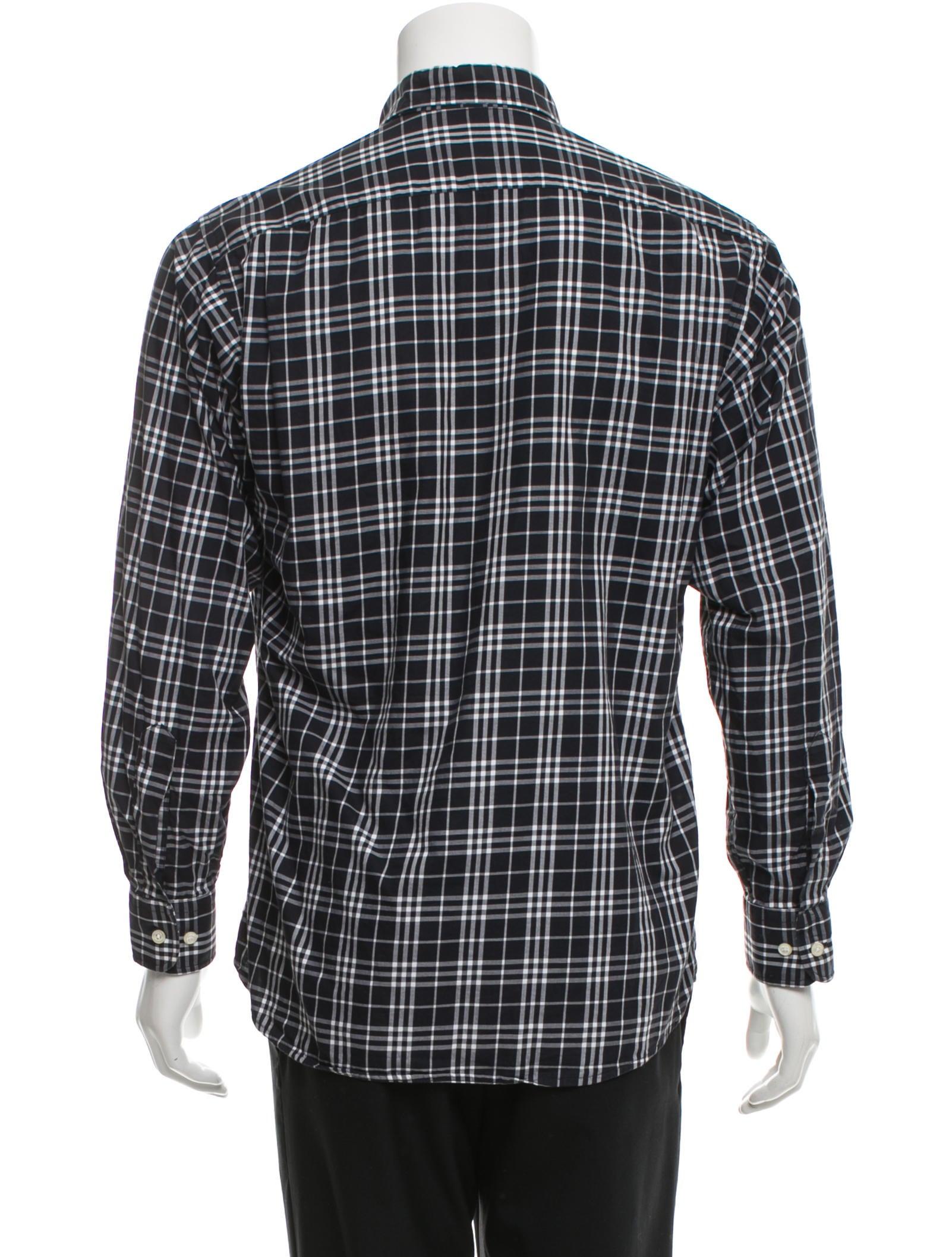 Burberry London Nova Check Button Up Shirt Clothing