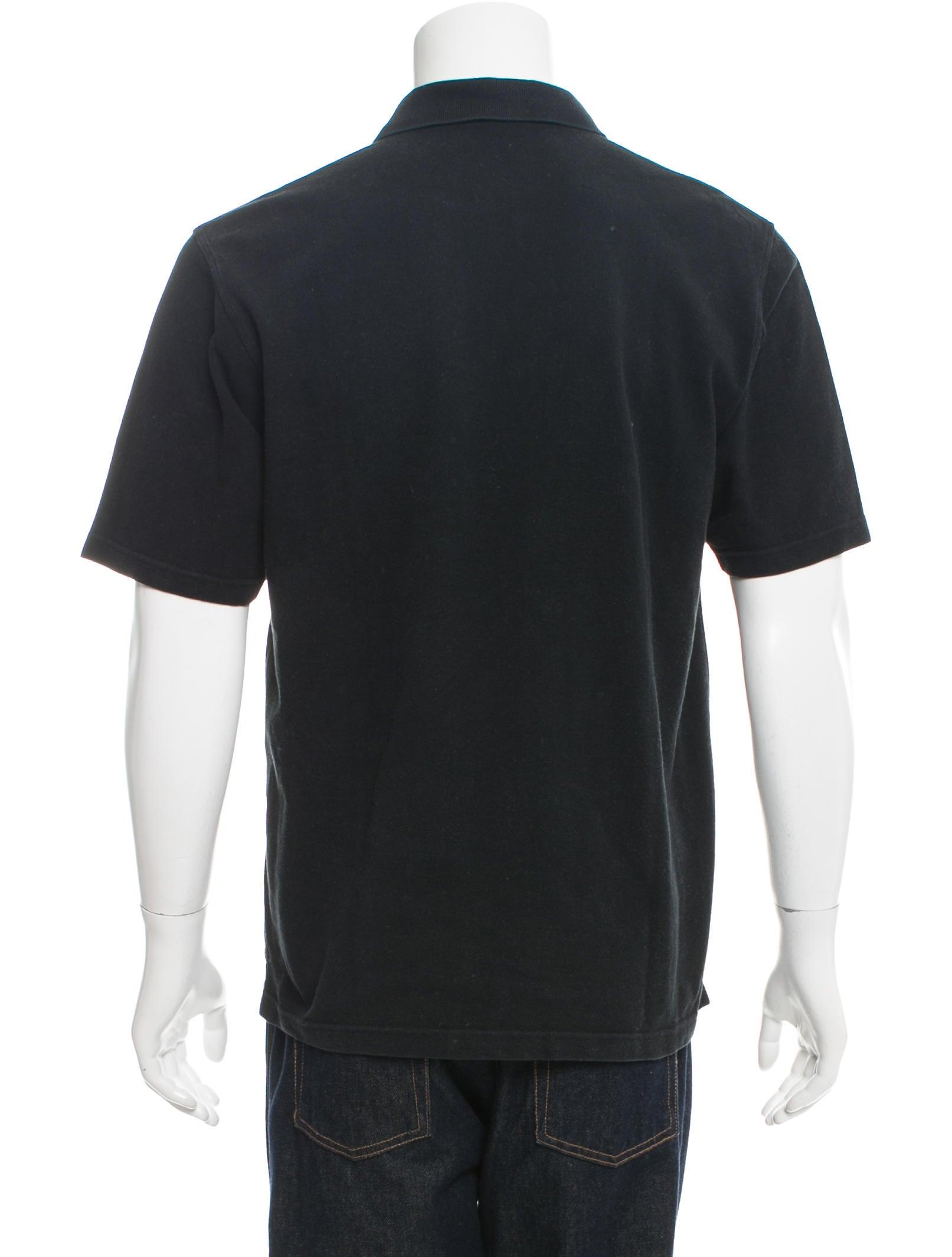 Burberry London Nova Check Trimmed Polo Shirt Clothing