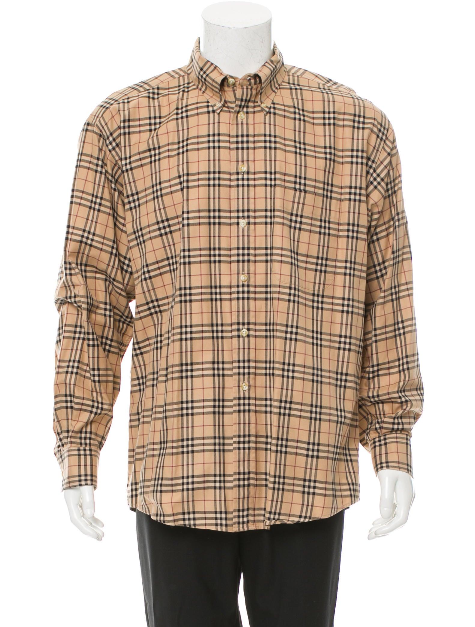 Burberry London Nova Check Shirt Clothing Wburl23050