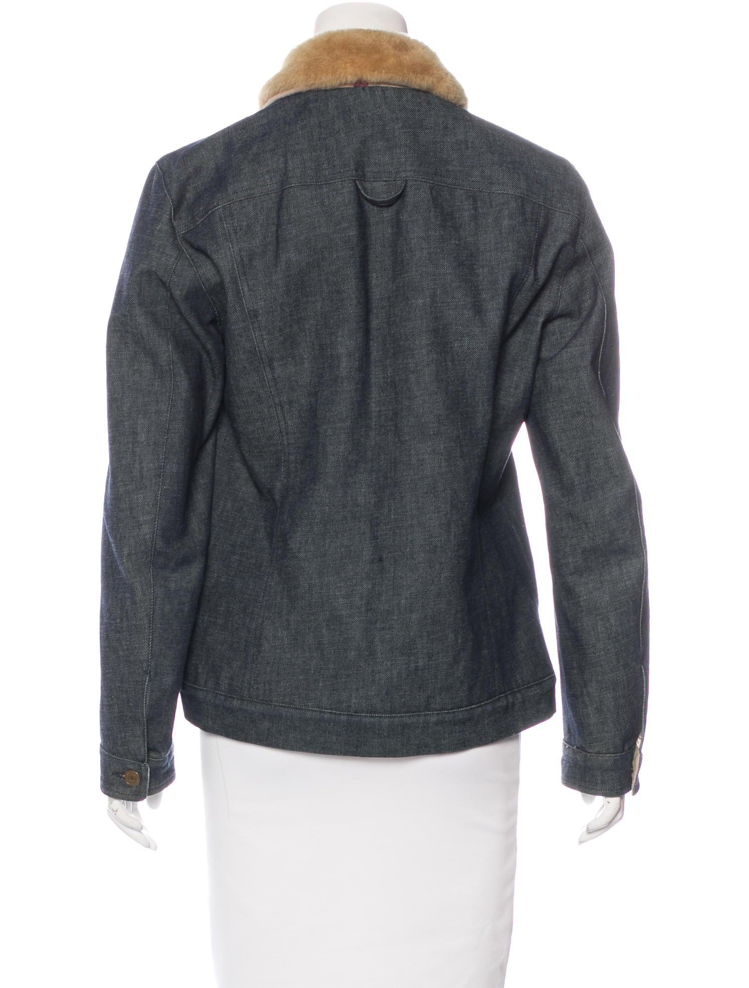 Burberry London Wool Lined Denim Jacket Clothing