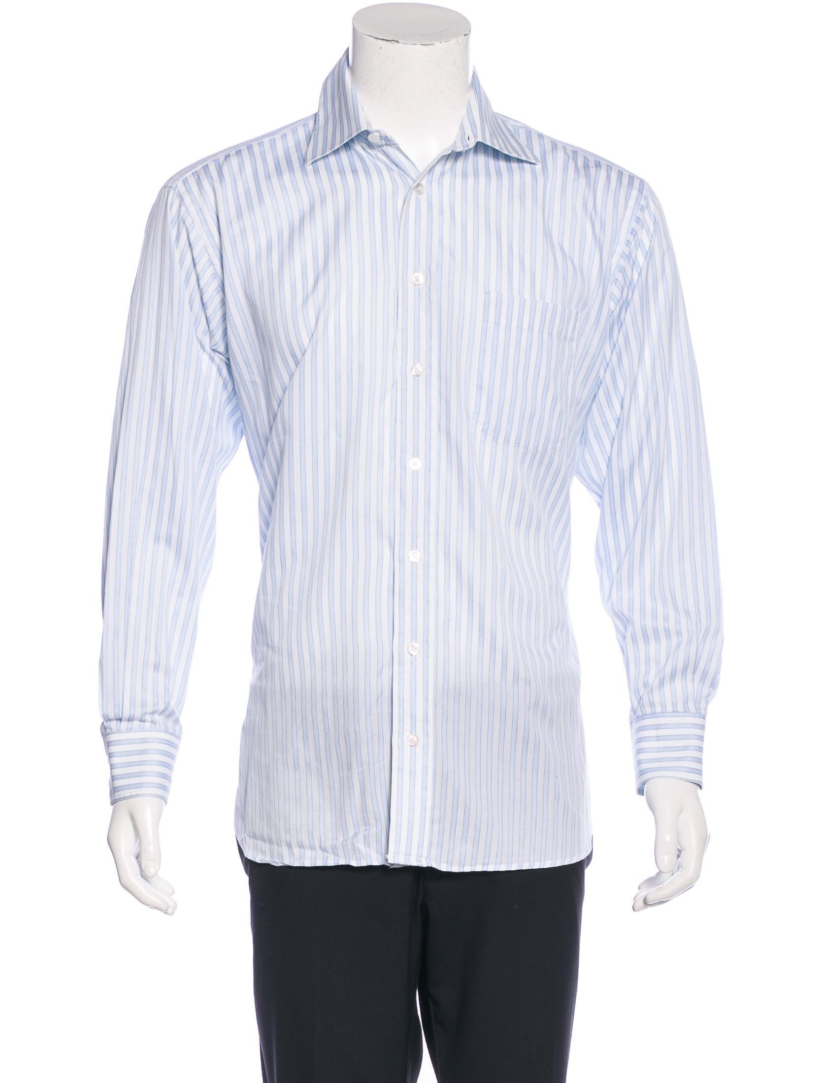 Burberry London Candy Stripe Dress Shirt Clothing