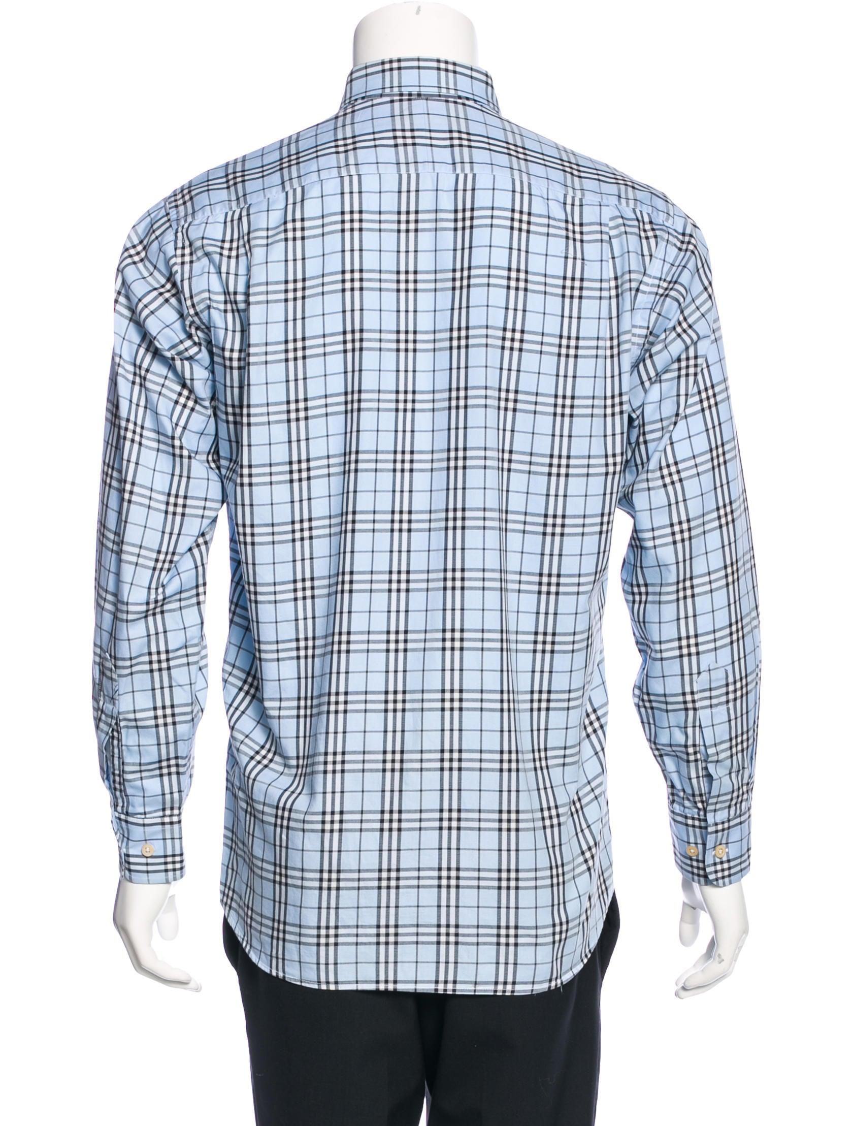 Burberry London Nova Check Dress Shirt Clothing