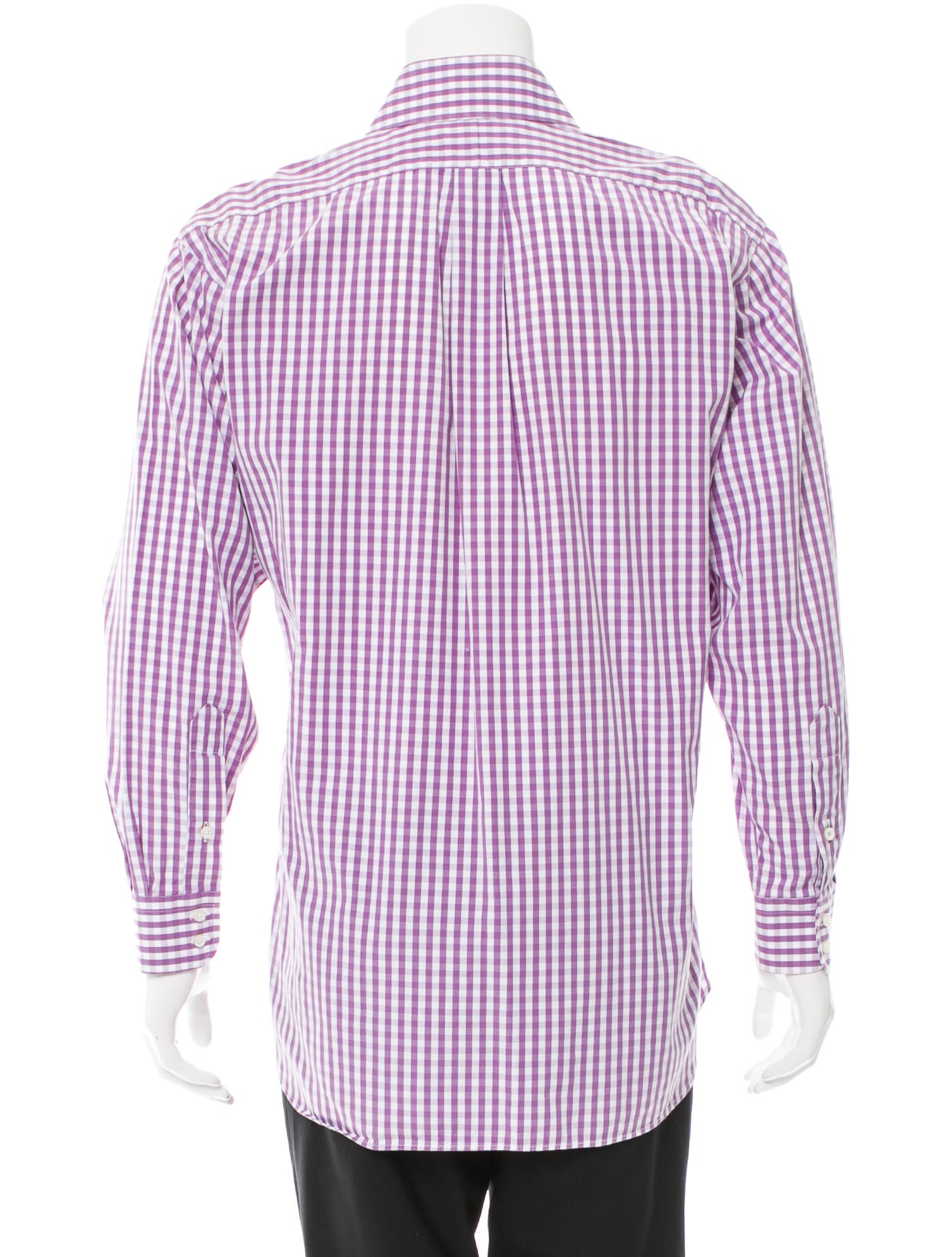 Burberry London Gingham Button Up Shirt Clothing