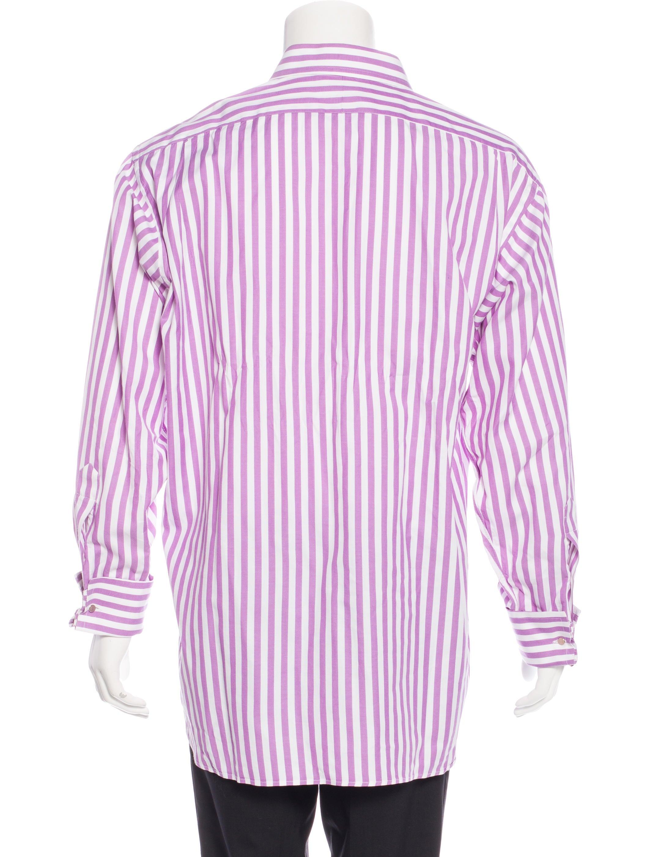 Burberry London Striped Woven Shirt Clothing