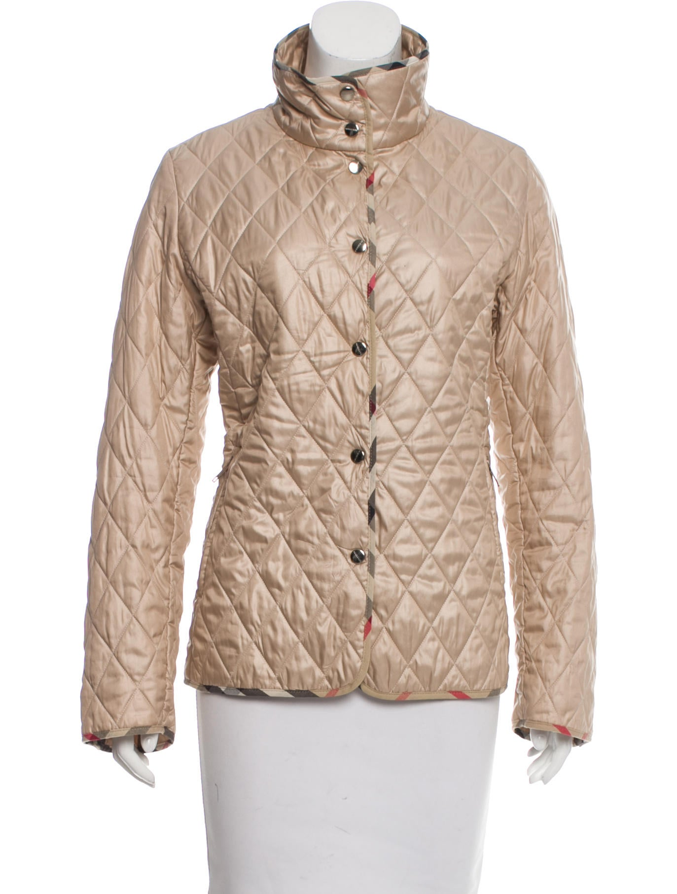 Burberry London Lightweight Quilted Jacket Clothing