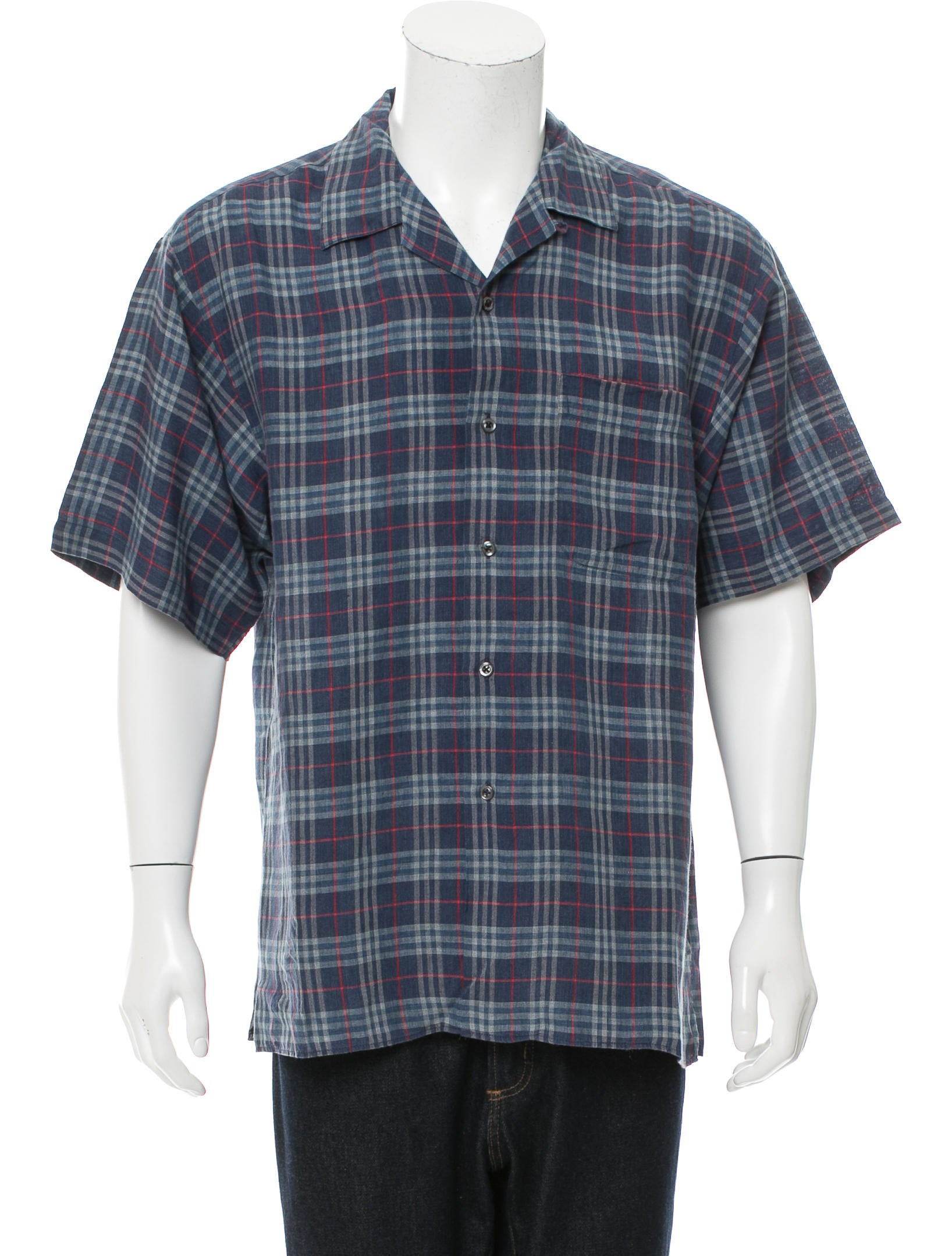 Burberry London House Check Button Up Shirt Clothing