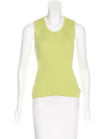 Burberry London Sleeveless Knit Top None