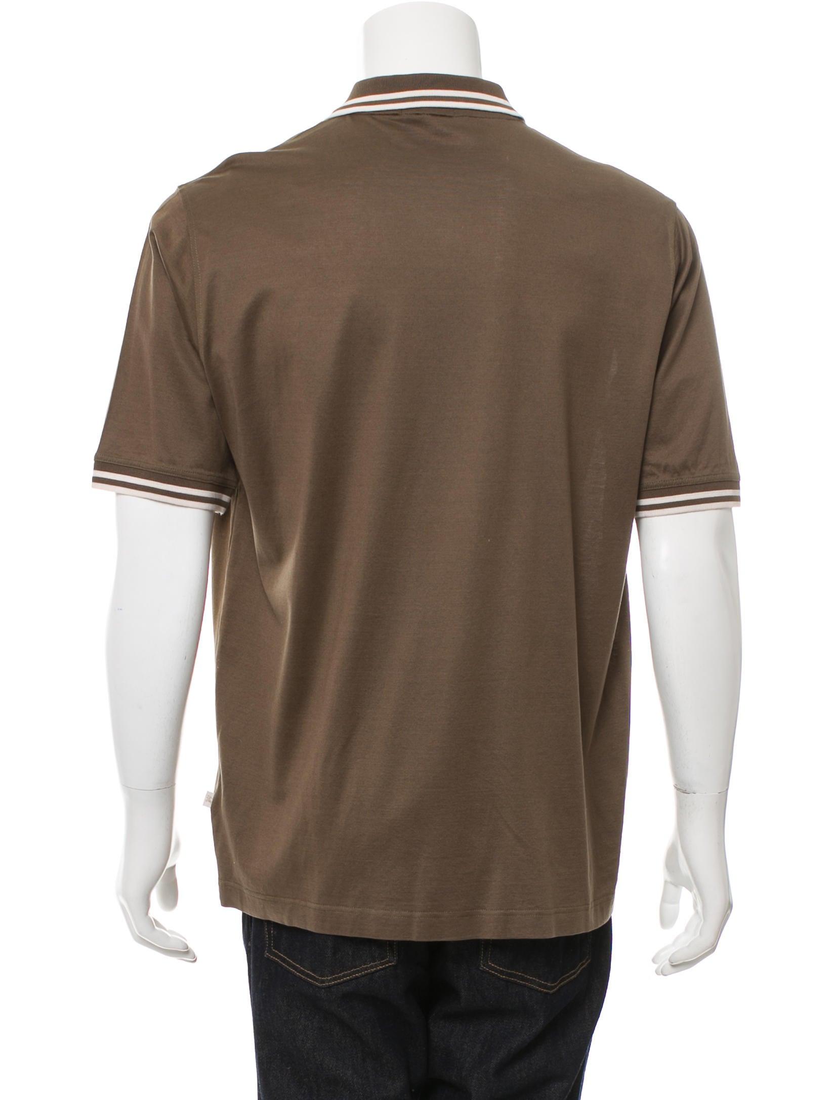 Burberry London Short Sleeve Polo Shirt Clothing