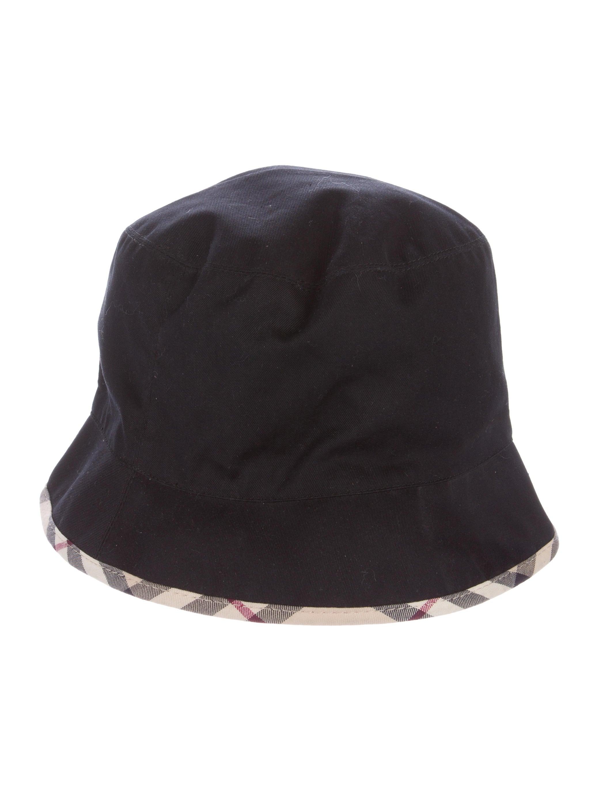 Burberry London Nova Check Bucket Hat - Accessories - WBURL24734 ... ea32794a18a