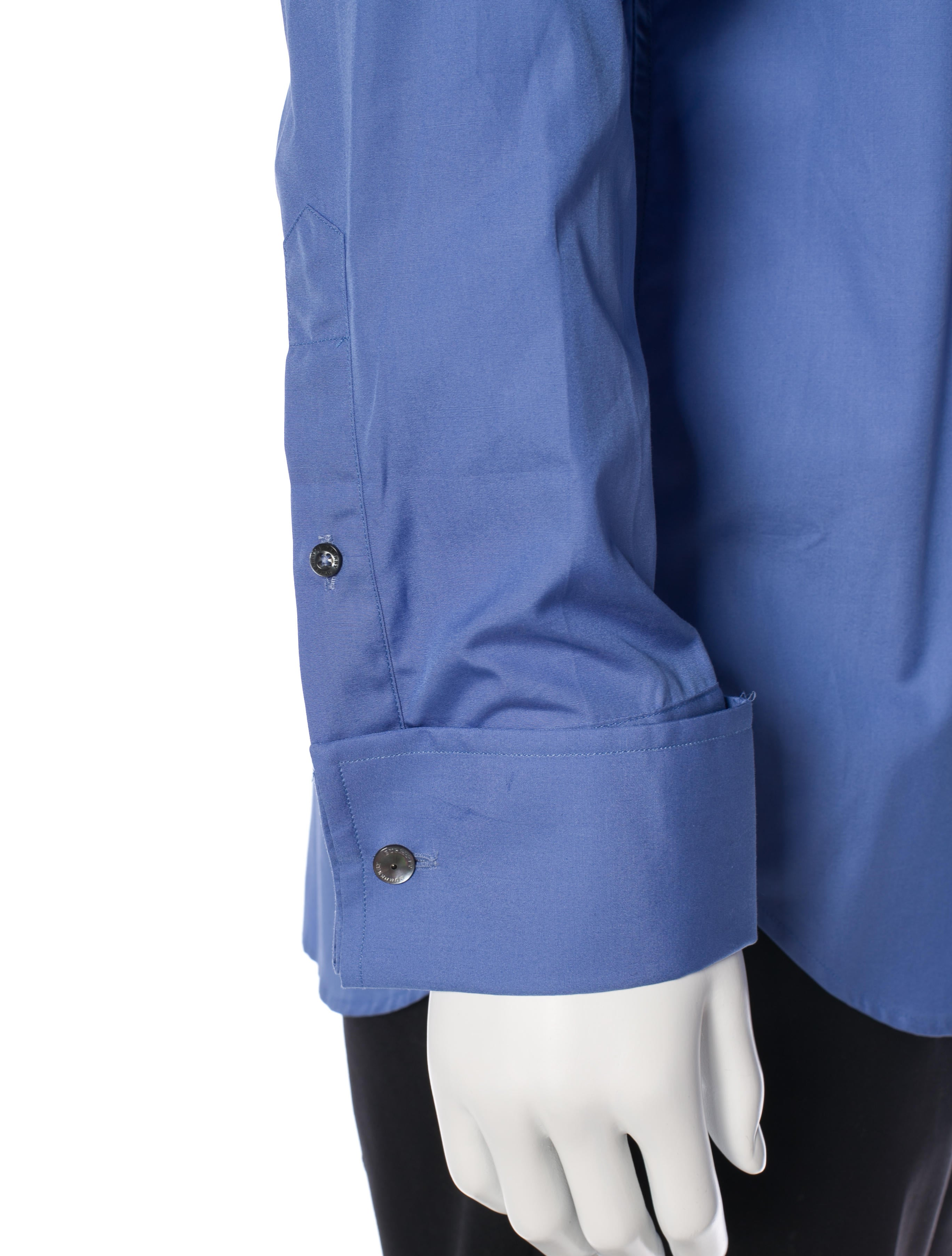 Burberry london french cuff dress shirt clothing for Dress shirt french cuffs