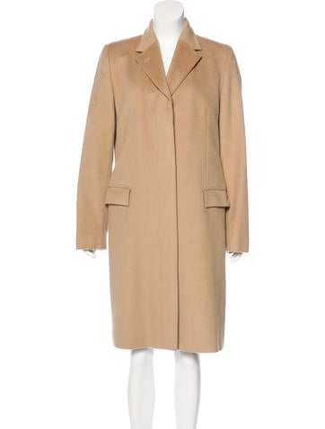 Burberry London Wool Notch Lapel Coat None