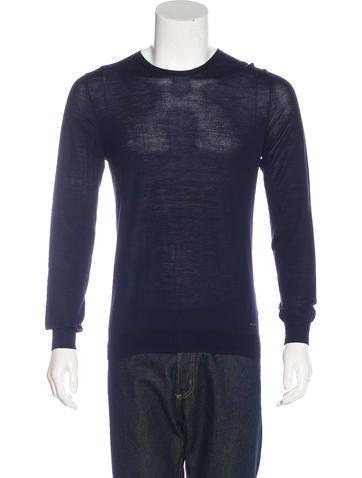 Burberry London Wool Crew Neck Sweater None