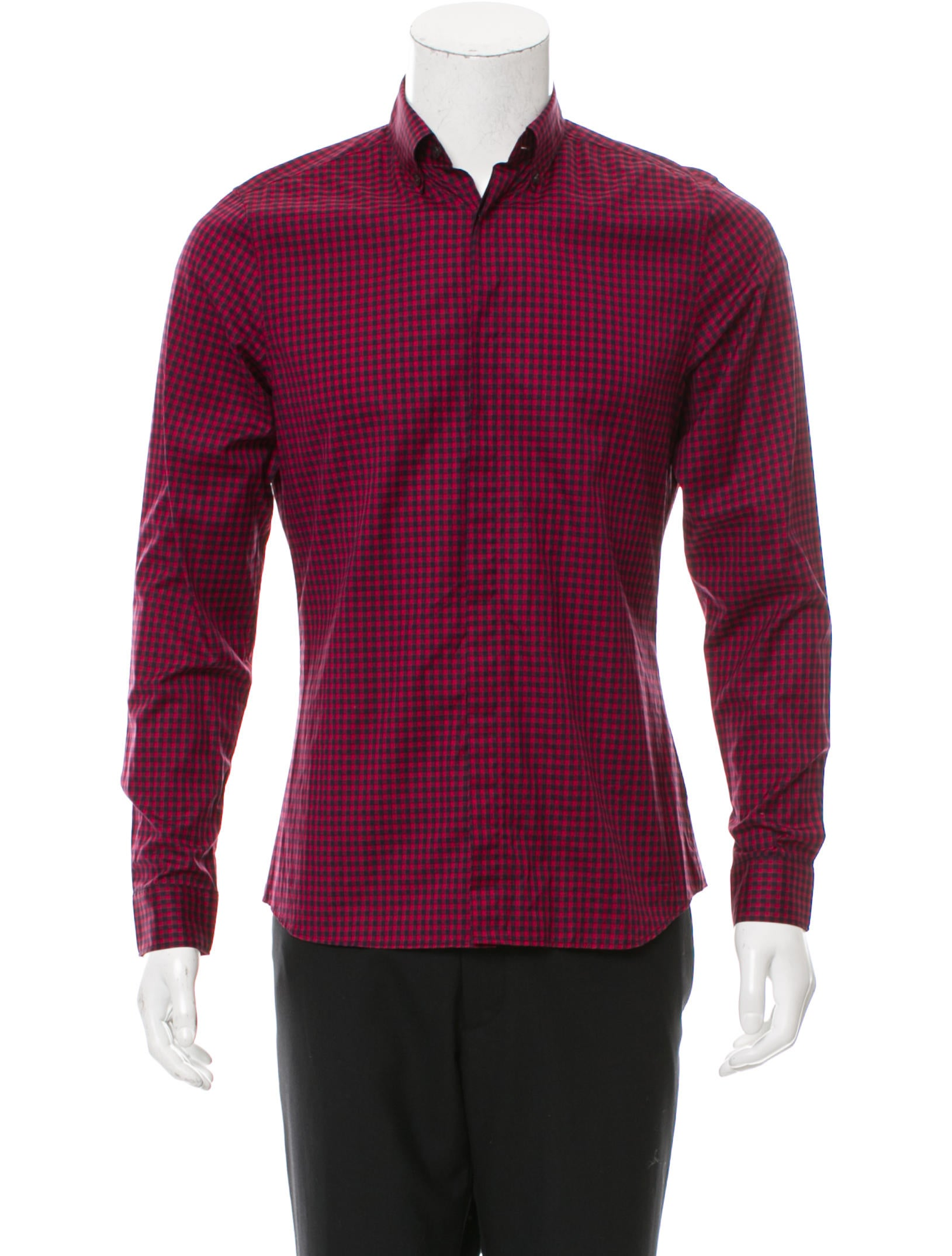 Burberry London Gingham Button Up Shirt W Tags Clothing