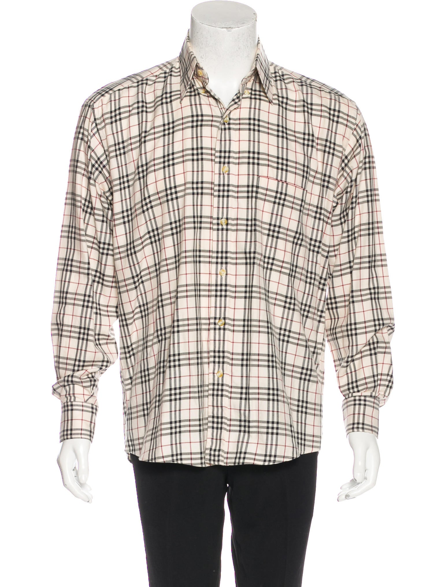 Burberry London Nova Check Shirt Clothing Wburl26247