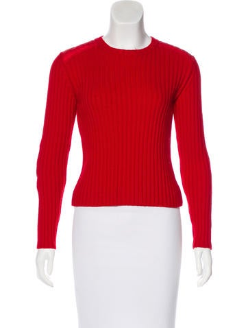 Burberry London Quilted Wool Sweater None