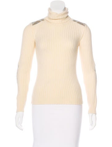 Burberry London Wool Turtleneck Sweater None