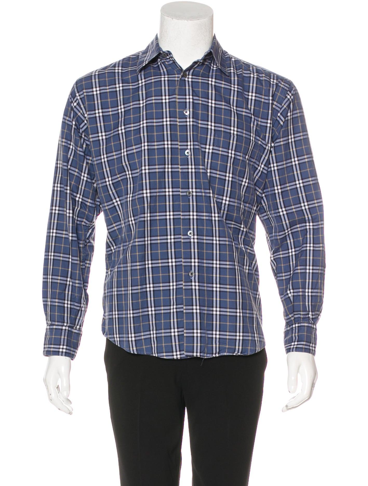 Burberry London Nova Check Shirt Clothing Wburl27657