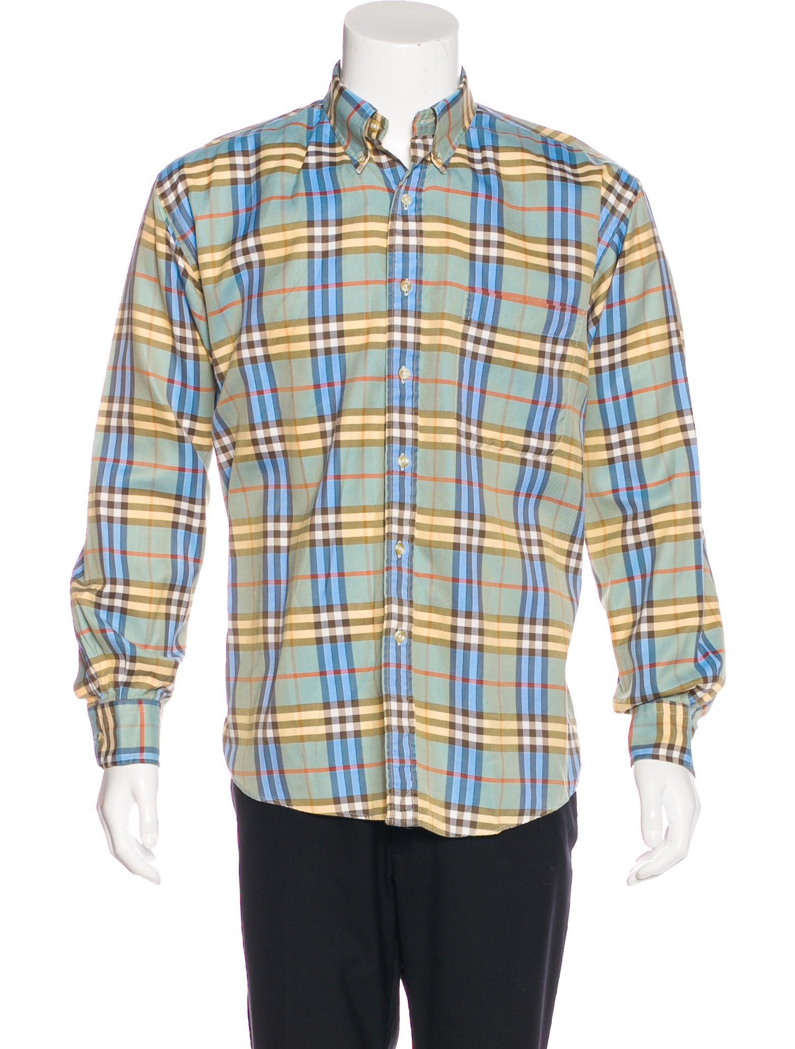 Burberry London Check Woven Shirt Clothing Wburl27747