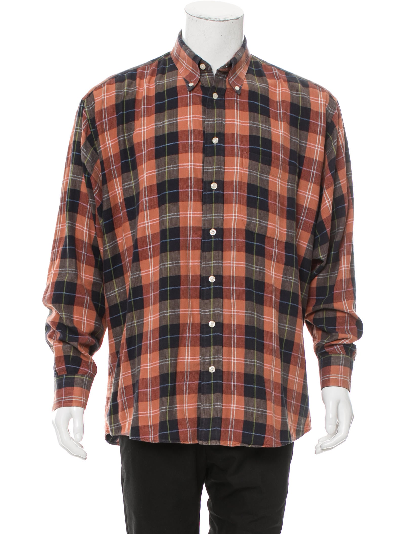 Burberry London Plaid Button Up Shirt Mens Shirts Wburl27788