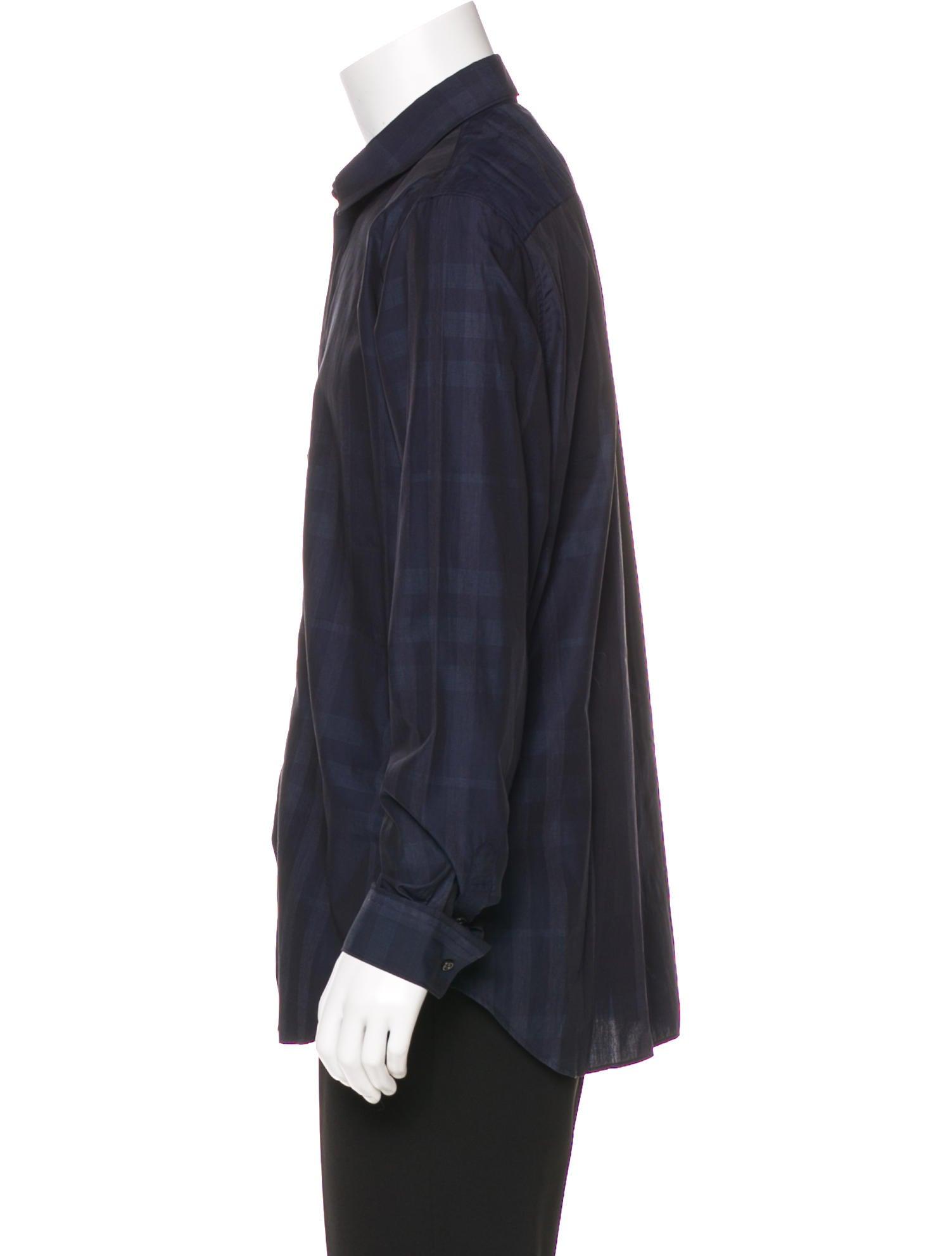 Burberry london check woven shirt w tags clothing Woven t shirt tags