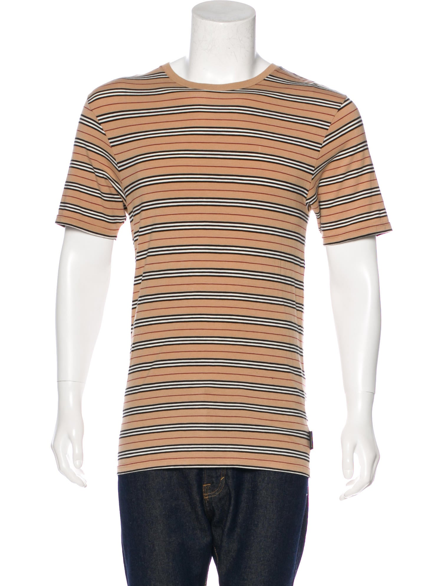 Burberry London Striped T Shirt Clothing Wburl28414