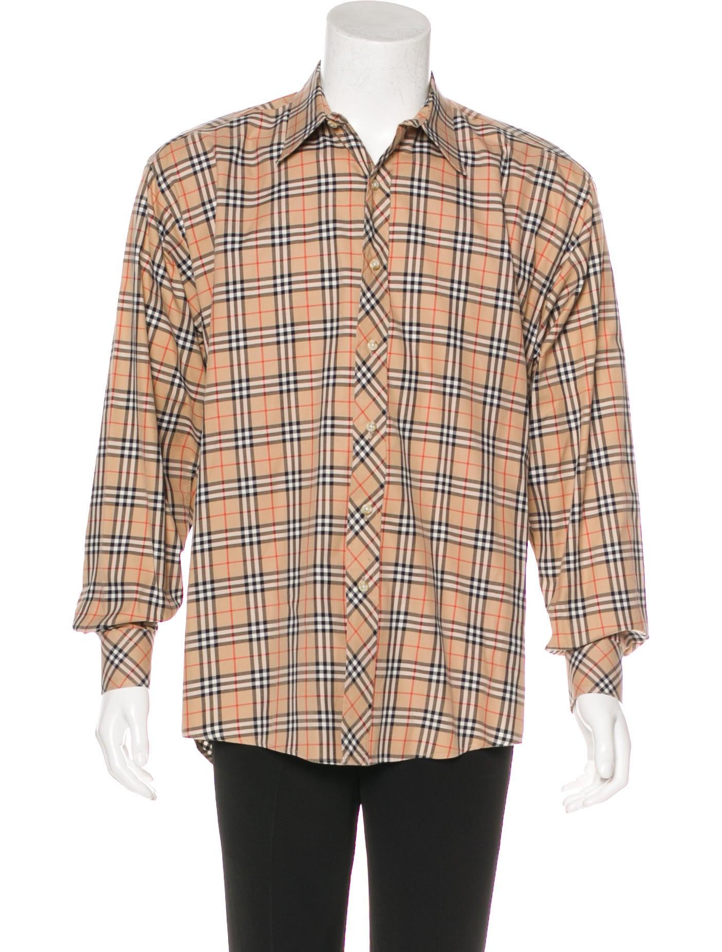 Burberry London Nova Check Woven Shirt Clothing