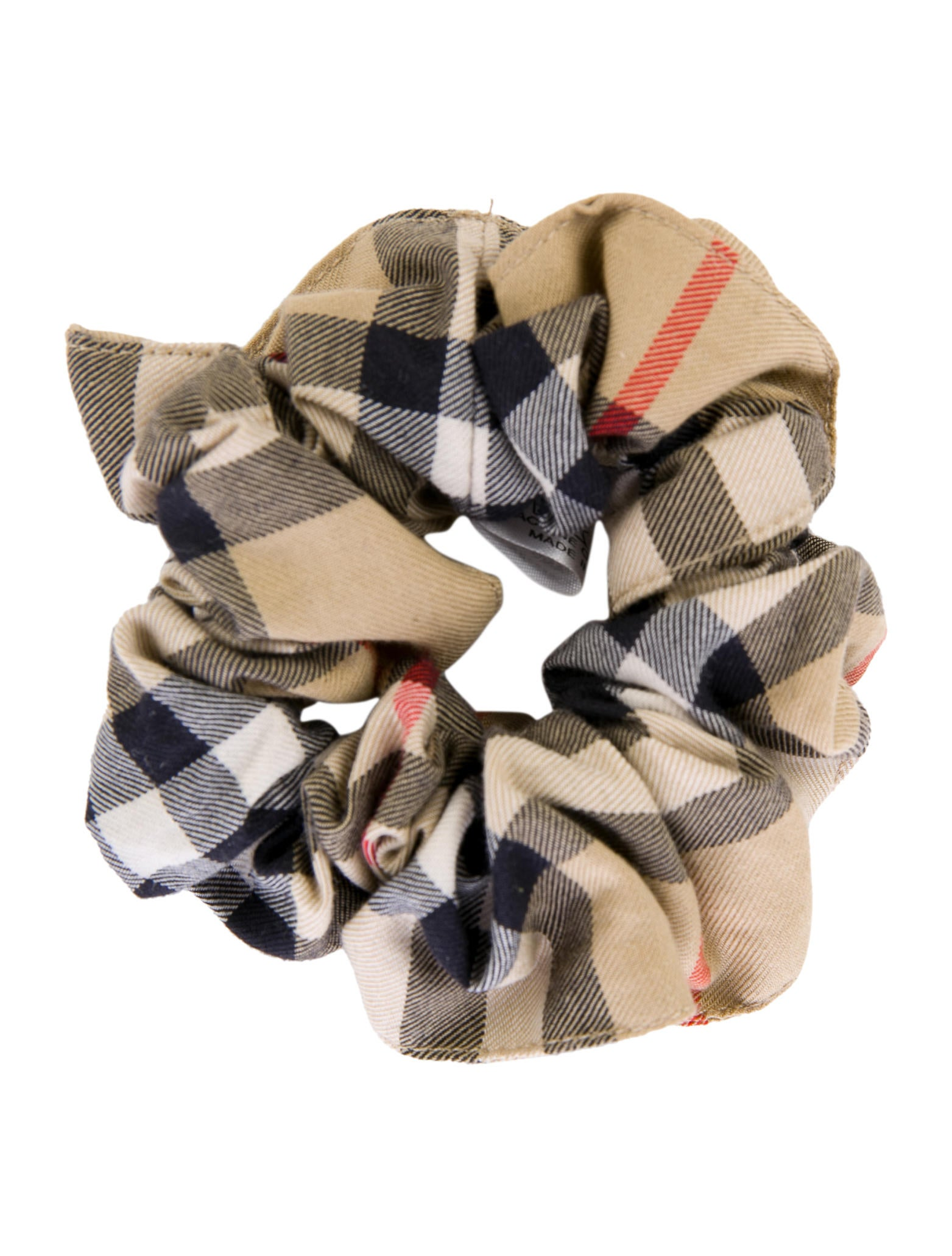 Burberry London House Check Hair Scrunchie - Accessories ... 33388cf57aa