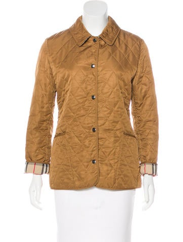 Burberry London Lightweight Quilted Jacket None