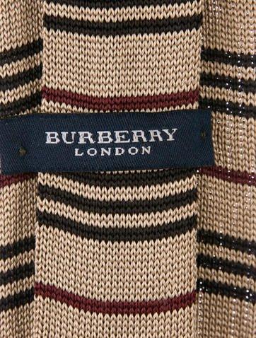 33ea633c58ba ... spain burberry london silk knit tie suiting accessories wburl30114  cea7d b3f3c