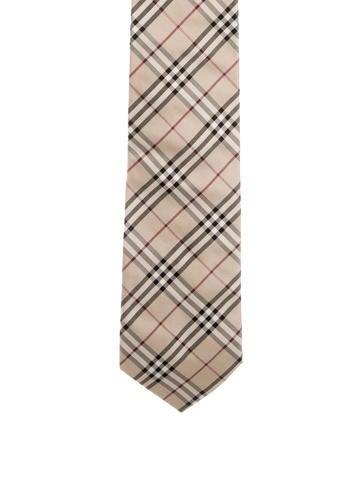 Silk Nova Check Print Tie