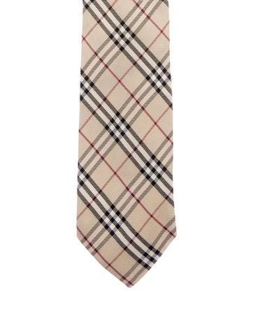 Nova Check Silk Tie