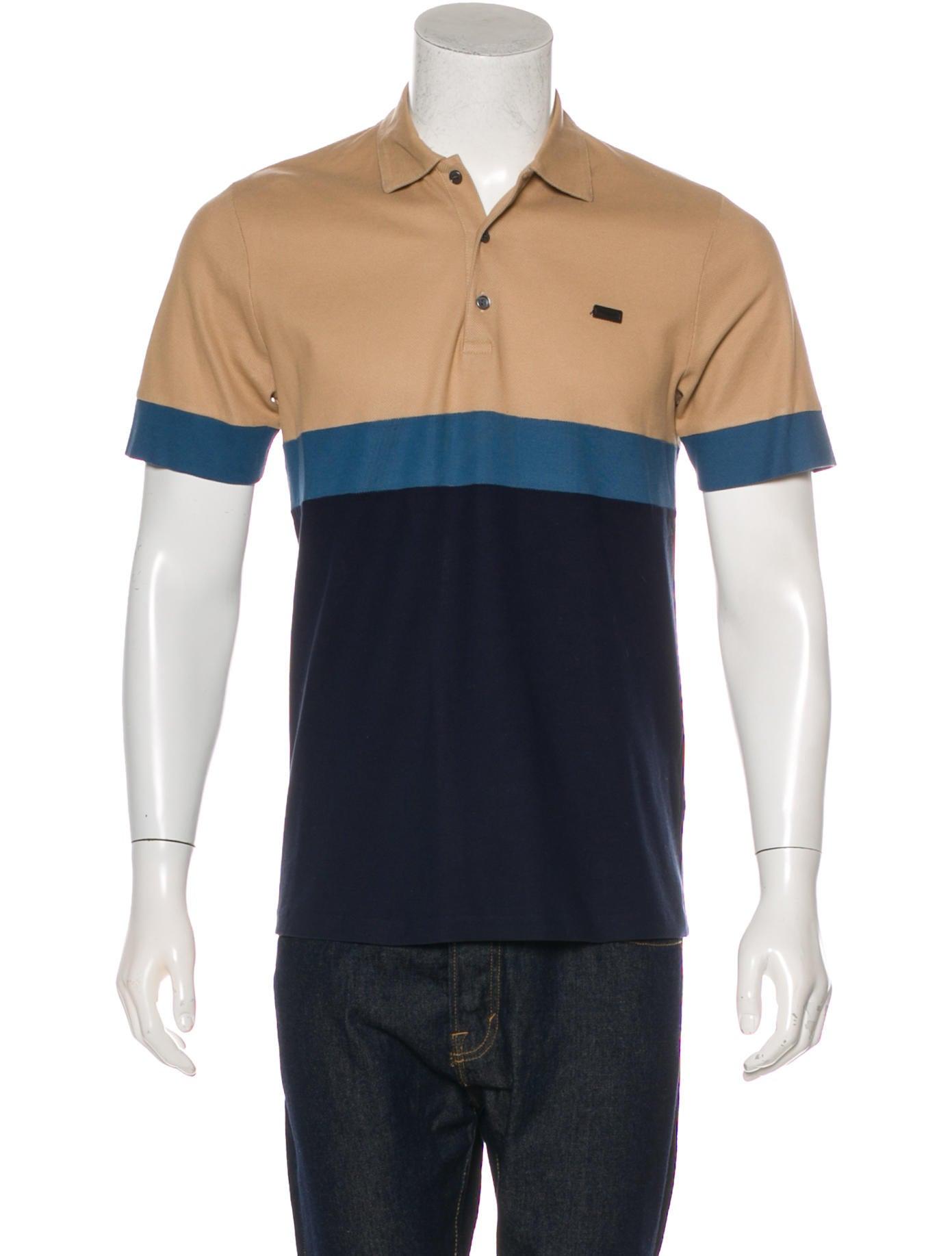 Burberry London Striped Polo Shirt Clothing Wburl33239 The