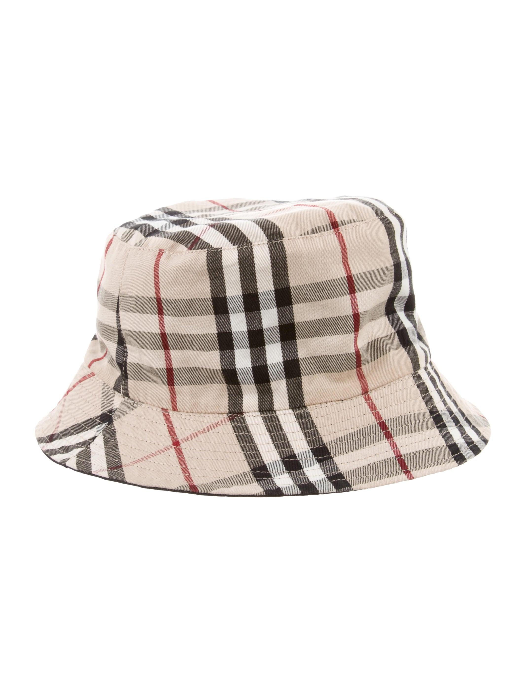 Burberry London Nova Check Bucket Hat - Accessories - WBURL34186 ... 33faa9a00d2