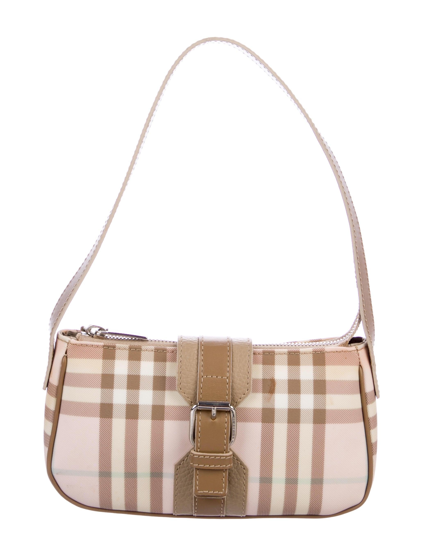 1d7d18084d1a Burberry London Candy Nova Check Mini Shoulder Bag - Handbags ...