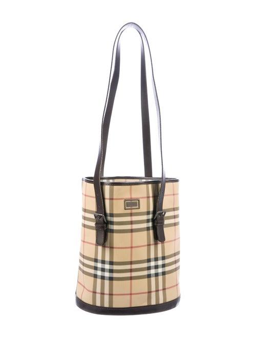 Burberry London Nova Check Bucket Bag - Handbags - WBURL40825  828f295d7b17e