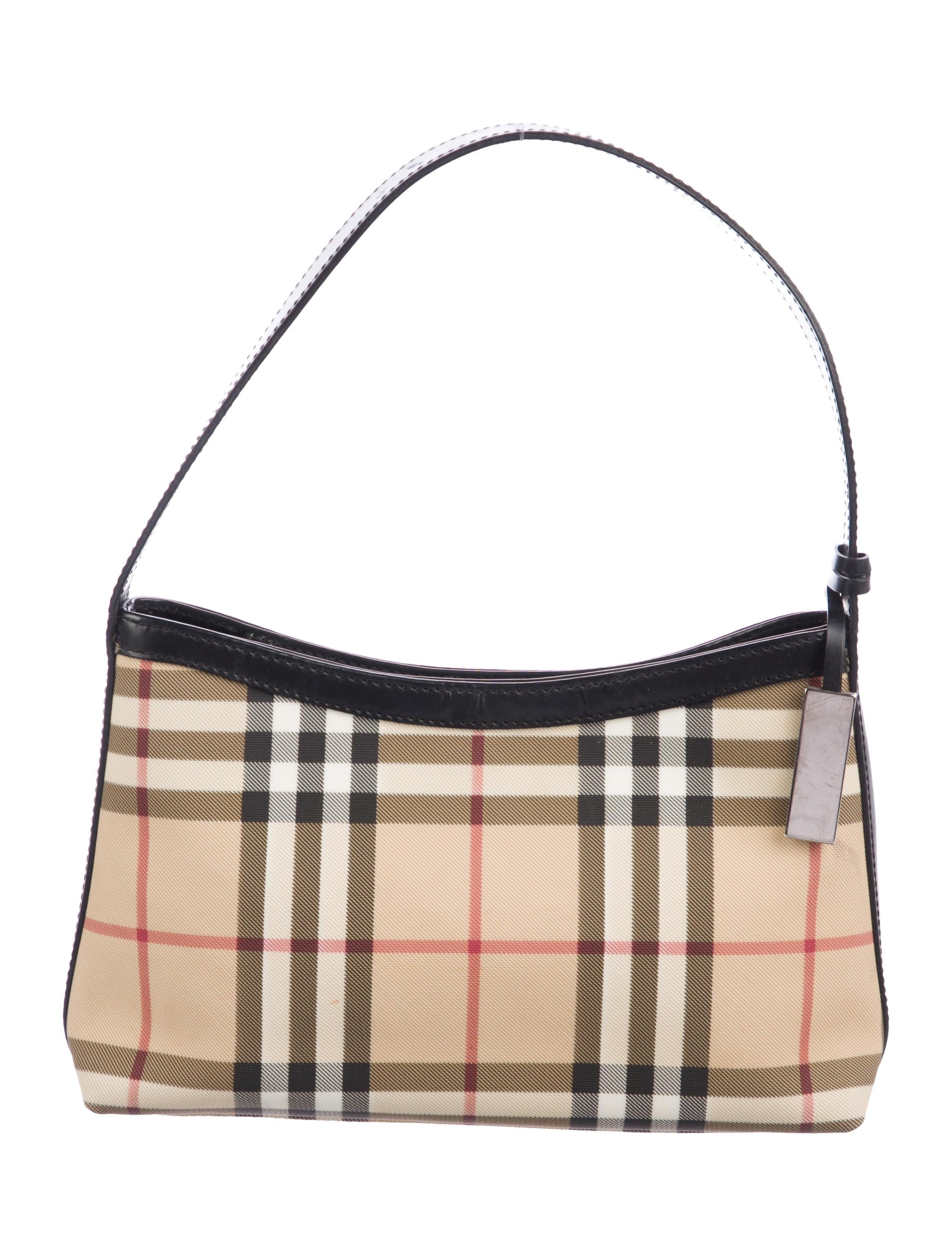 bf46bb64925d Burberry London Nova Check Mini Bag - Handbags - WBURL41628