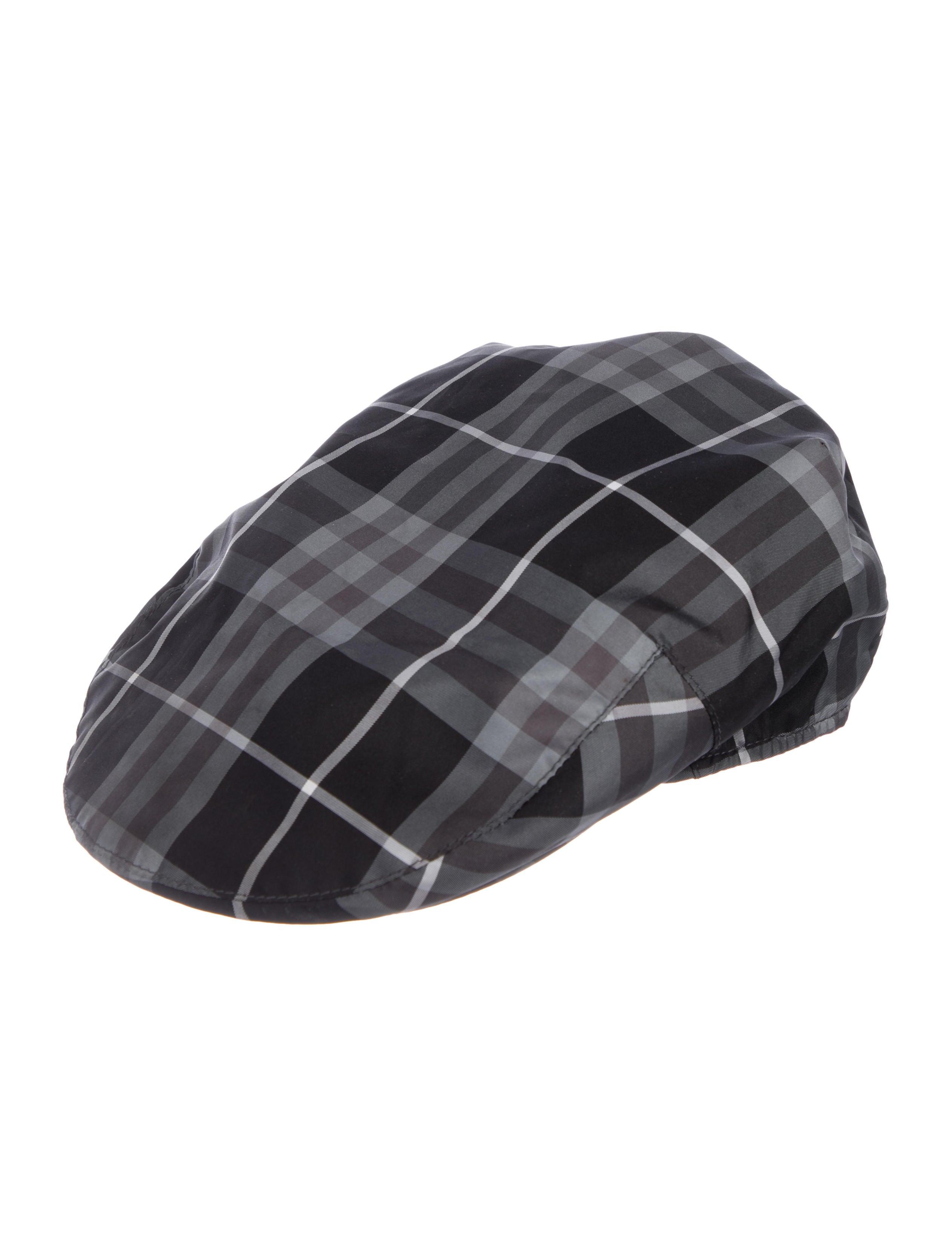 2c6a934f299 Burberry London Beat Check Newsboy Hat - Accessories - WBURL41902 ...
